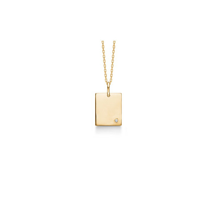 69c79d5c2b0 Mads Z Tag halskæde – guld – Hvitfeldt Smykker & Ure