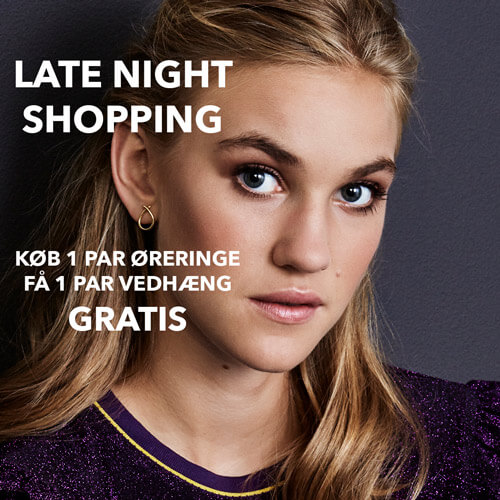 Hvitfeldt smykker og ure, izabel Camille, late night shopping, shopping, late, night, smykker, jewelry, tilbud, sale, earrings, øreringe, forgyldt sølv, sølv, attitude, everyday